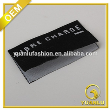 custom folded woven label and paper tags brand name clothing labels