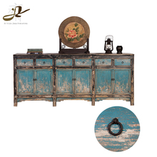 New design rustic style storage wooden cabinet furniture for sale