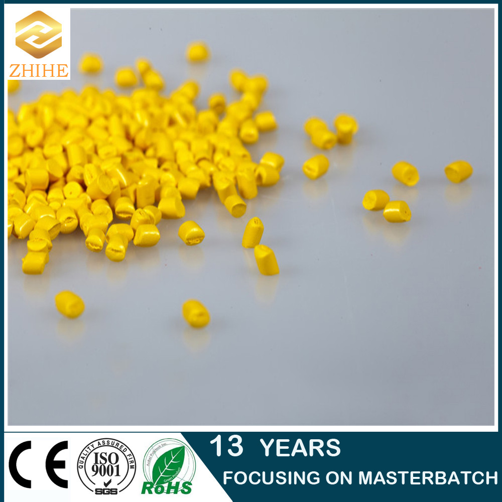 ABS non toxic yellow color master batch