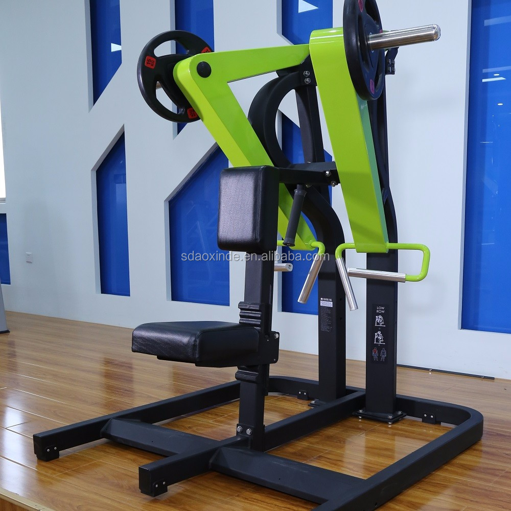 low row machine gym fitness equipment
