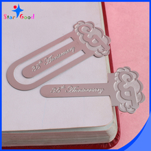 Custom 3D Metal Trim Clip Bookmarks