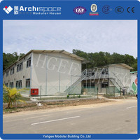 china prefabricated house for yahgee
