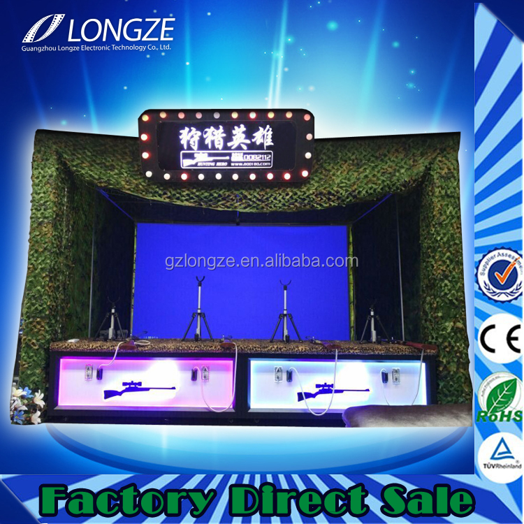 New arrival design arcade park game area shooting game film shooting equipment machine