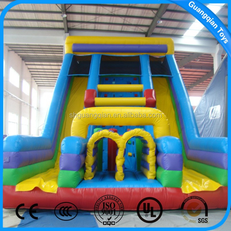 Guangqian Newest Design Inflatable Water Slide Commercial For Sale