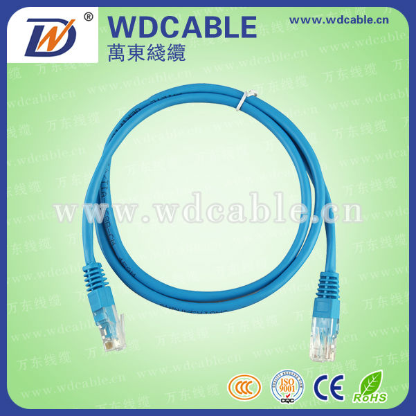 Cat6 FTP Network RJ45 Ethernet LAN Patch Lead Cable Type and 8 Number of Conductors cat6 patch cord