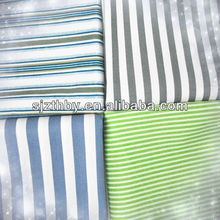 2014 hot sale 100% cotton printed twill pink and white stripe fabric
