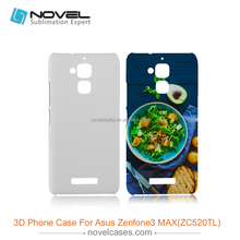 2017 New 3D Sublimation Phone Cover for Asus Zenfone 3 Max ZC520TL