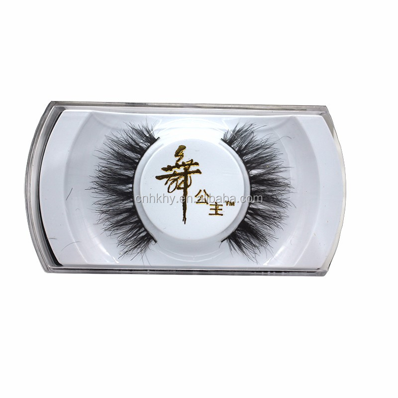 Attractive Multiple Styles Handmade Mink/ Horse/ Human/ Synthetic Hair False Eyelashes Fake Colorful Lashes