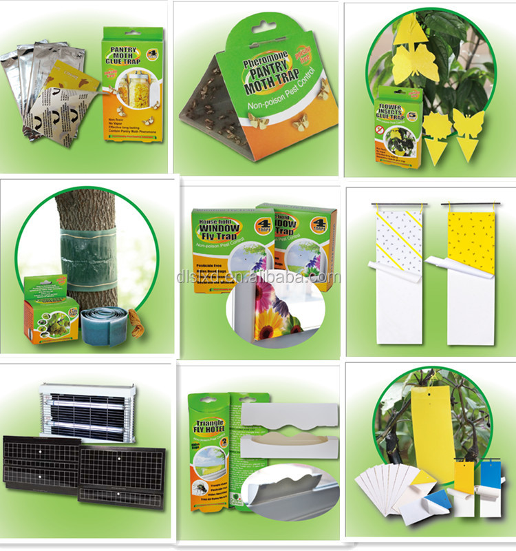 Fruit Tree Green Glue Trap For Garden,Insect Trap