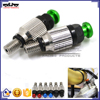 BJ-FBV-001A High quality M5*0.8mm Green Fork Bleeder pressure relief valve china for dirt bike
