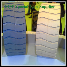 industrial Chinese cheap tires 12x4/airless tires, applicated in lifting platform