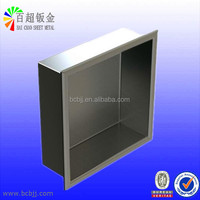 Custom Stainless Steel Shower Niches Box from China Factory