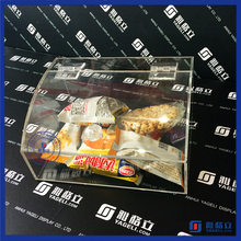 China factory custom made acrylic candy box & clear acrylic bulk food bin / acrylic candy bin