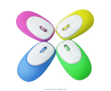 3D Promotion Product Computer Parts Colorful 1000 DPI Portable Silicon Wireless Mouse