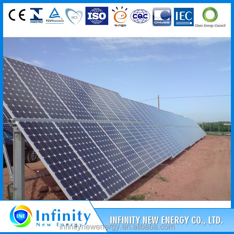 High efficiency factory hottest selling 310W Flexible solar panel From China
