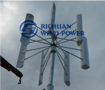 10KW wind turbines residential wind power generator hybrid solar wind power generator