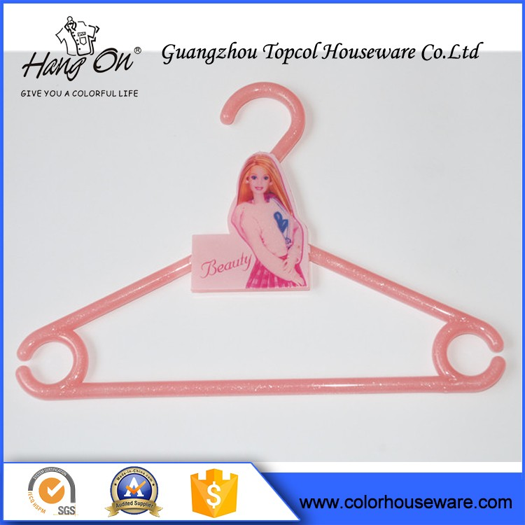 Plastic Hanger Hooks For Clothes , Plastic Hanger For T-Shirt