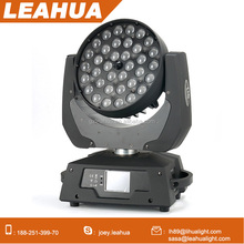 Good price 36*15w RGBWAUV 6in1 moving head led wash zoom