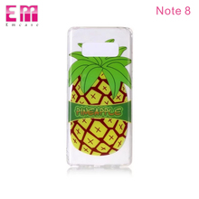IMD Painting Customized TPU soft rubber Phone Case for samsung note 8