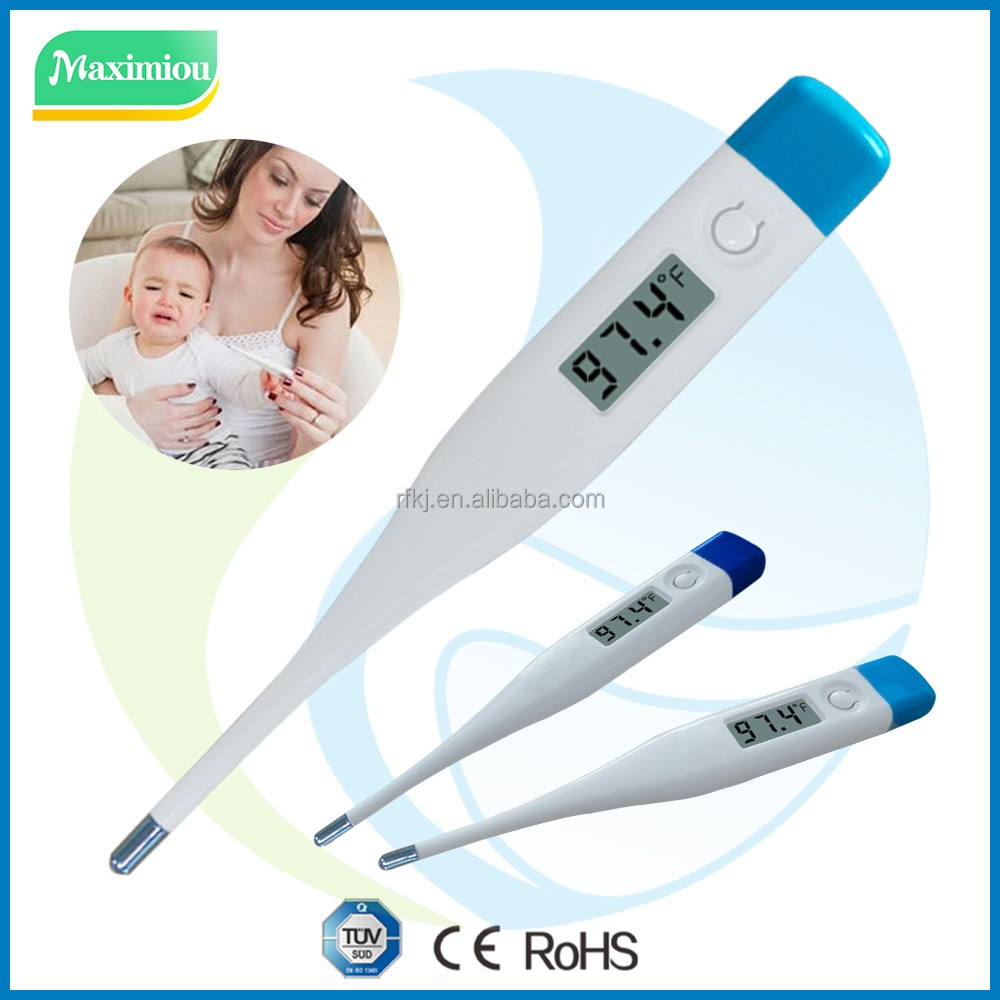 Hospital clinic use or home personal use digital thermometer