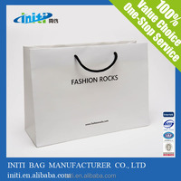 2015 New Products Custom/Wholesale white craft paper bag
