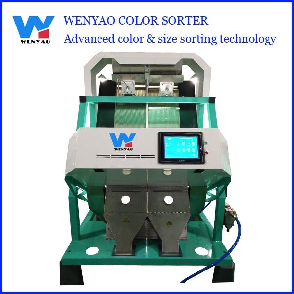 3ton/hour rice color and shape sorter