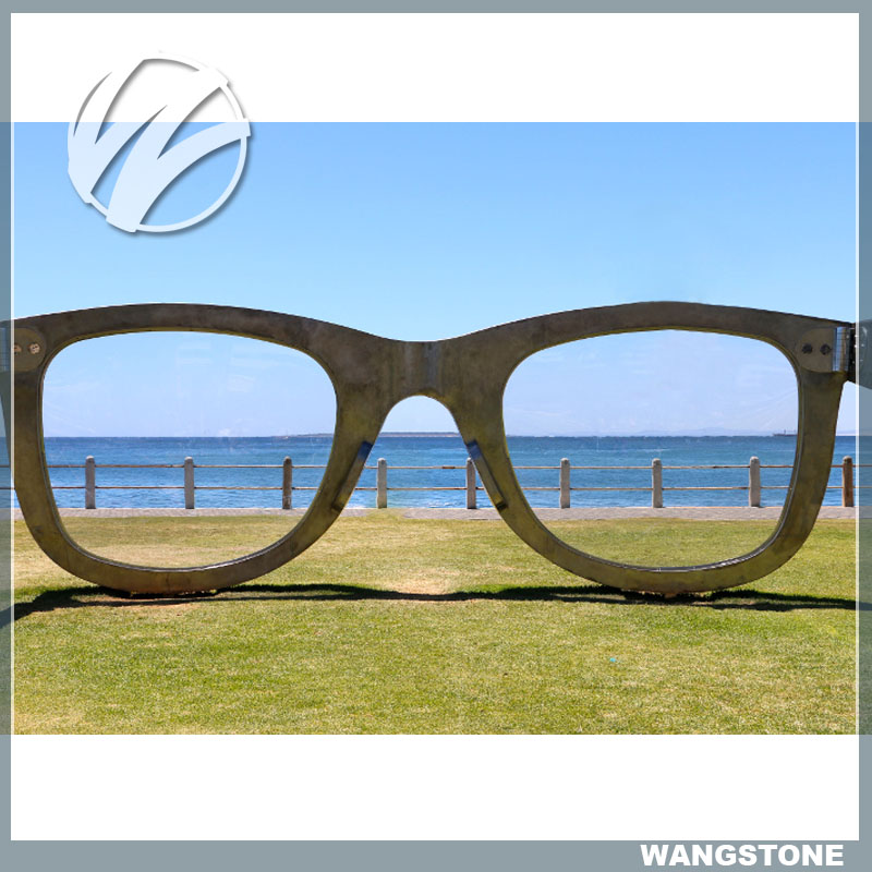 Large Modern Garden Sunglasses Sculpture Art