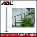 SS304 or 316 3 step ladder with handrail post with handrail bracket in high standard quality