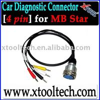 [Xtool] Professional Auto Diag Cable 4PIN for MB Star in Stock