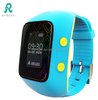 Long battery children protection devices /sos panic button watch gps tracker-R12