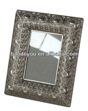 antique metal picture frame