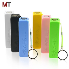 Perfume disposable power bank 2600mah usb external battery charger for iphone and samsung smartphones
