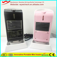 Strong warm wind electric handheld portable living room heaters