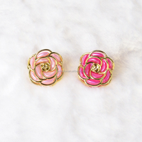2016 best selling fashion japanese crystal flower claw clip hair flower hair clip claw.