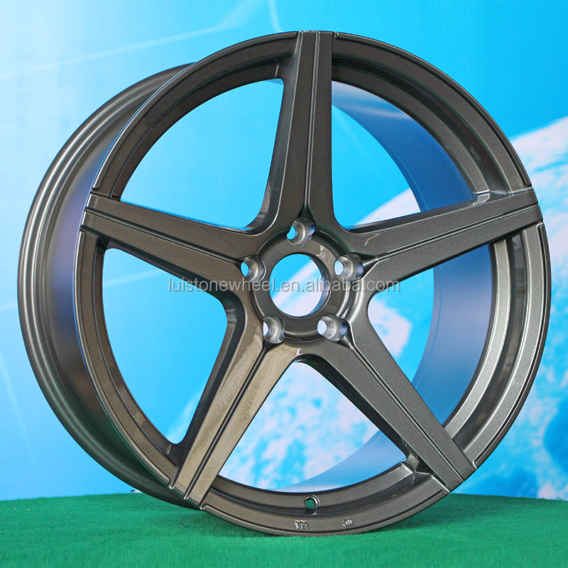 19 inch 5 Hole alloy wheel rim for car Rear Front