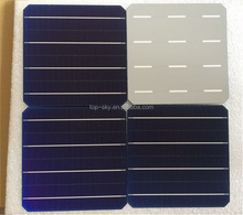 TP-156M Hottest selling 6''x6'' mono-crystalline solar cell supplier high efficiency thin film solar cell
