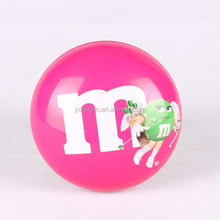 m&m CMYK chocolate candy tin metal tin can