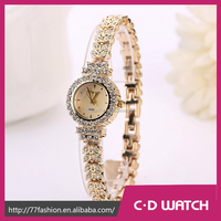 King Girl Women Dress Watches Luxury Stainless Steel Strap Gold White 2 Colors Bracelet High Quality Top Brand Gift XR950