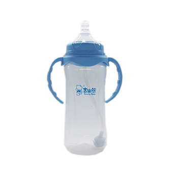 330ML Wide Neck Baby Silicone Feeding Bottle