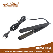 Custom oem titanium salon flat iron professional brand names of hair straighteners