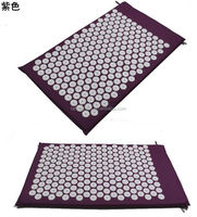 Back Pain Relief foot massage floor mat and Neck Pillow Set
