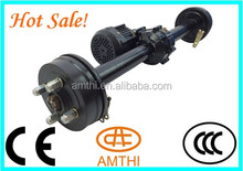golf cart rear differential, Differential Rear Axle with gear box for small car Electric tricycle, trike rear axle