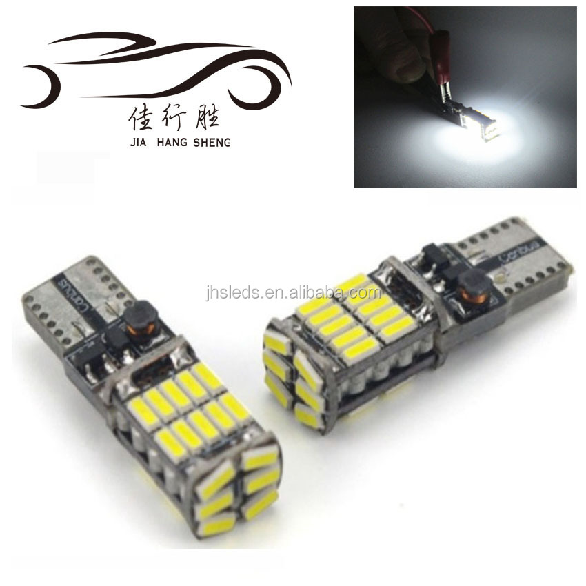 Super bright T10 w5w 194 501 led car interior light T10 26 SMD 4014 Chip Instrument Lights bulb lamp canbus no error 12V 6000K
