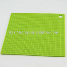 eco-friendly square shape anti-slip silicone pad/cup pad