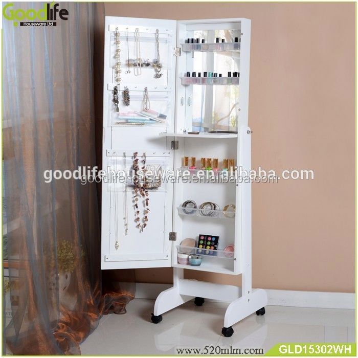 China factory fashion best-selling cosmetic display cabinet and showcase for saudi arabia