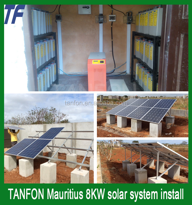 Industrial and home use 1kw 10kw off grid solar home system / Solar Energy Generation System in West Africa