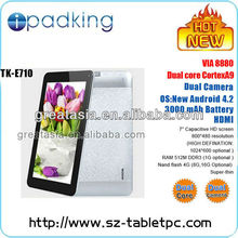 "2013 new tablet! 7"" dual core tablet pc"