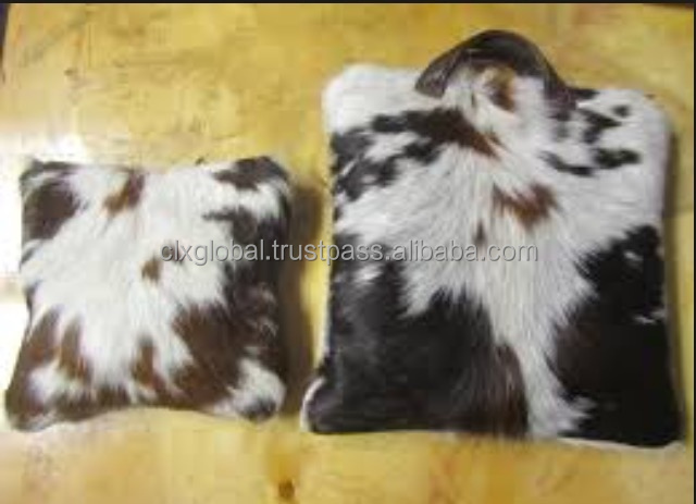 COWHIDE TALLIT AND TEFILLIN BAGS