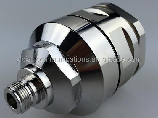 NF-1 5/8L - N type female plug Connector for 1 5/8 coaxial cable, grounding kits, feeder clamps