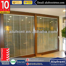 AS2047 automatic decorative grilles sliding doors system